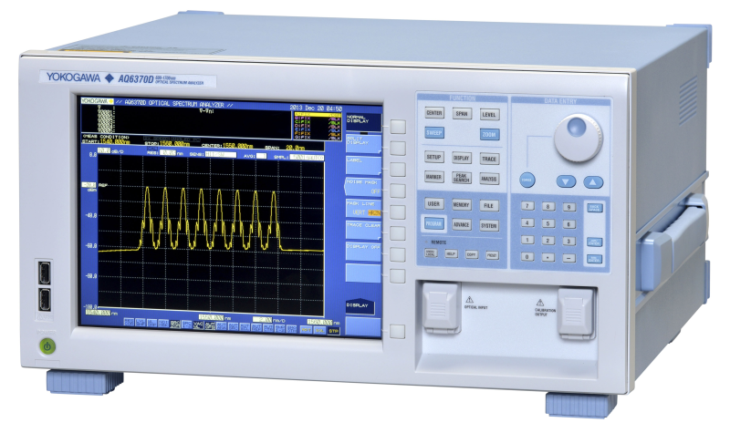 AQ6370D Telecom Optical Spectrum Analyzer 600 - 1700 nm