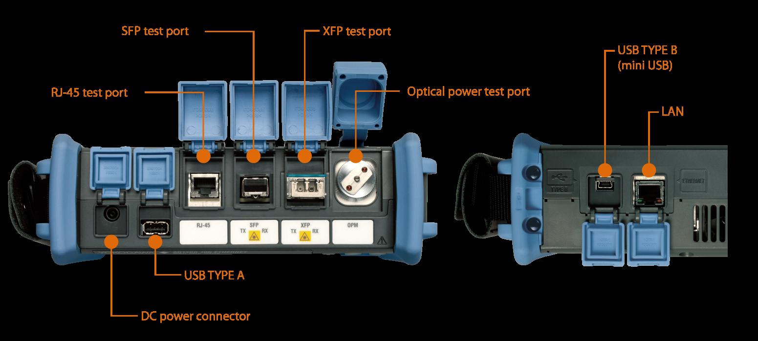 Aq1300 Series 1g 10g Ethernet Multi Field Tester Yokogawa Test Aerospace Wire Harness Tracer Aq1301 11
