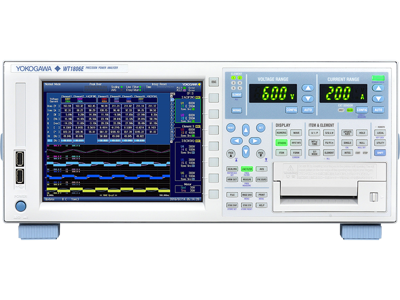 WT1800E High-Performance Power Analyzer