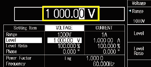 LS3300 High Voltage Notification