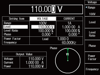 LS3300 Input Adjustment Voltage Setting