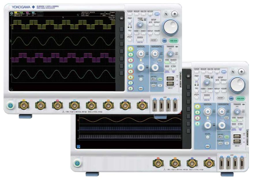 横河电机DLM5000混合信号示波器概述
