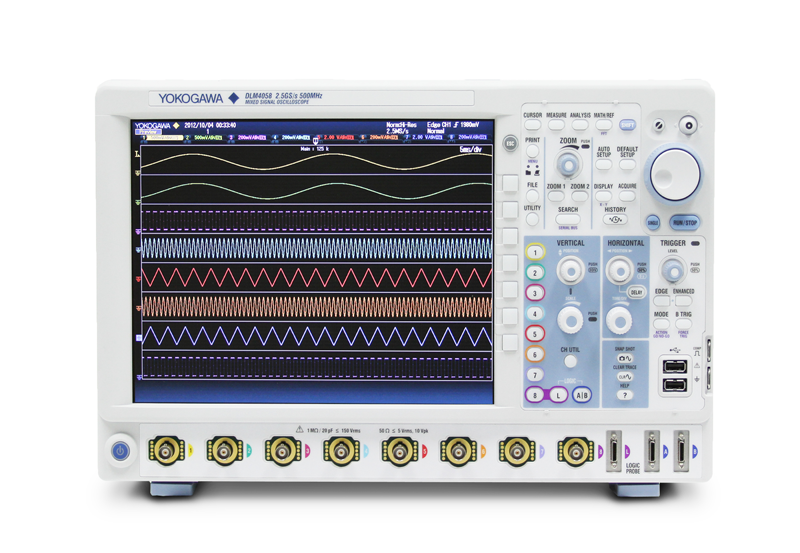 DLM4000 Mixed Signal Oscilloscopes | Yokogawa Test & Measurement