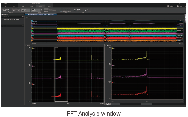 IS8000 Integrated Software FFT and Math Function | Yokogawa Test&Measurement