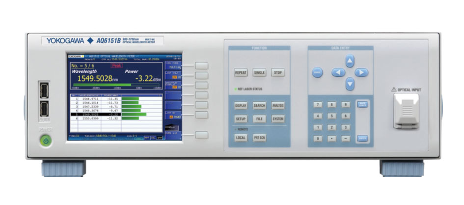 AQ6150B Series Optical Wavelength Meter thumbnail
