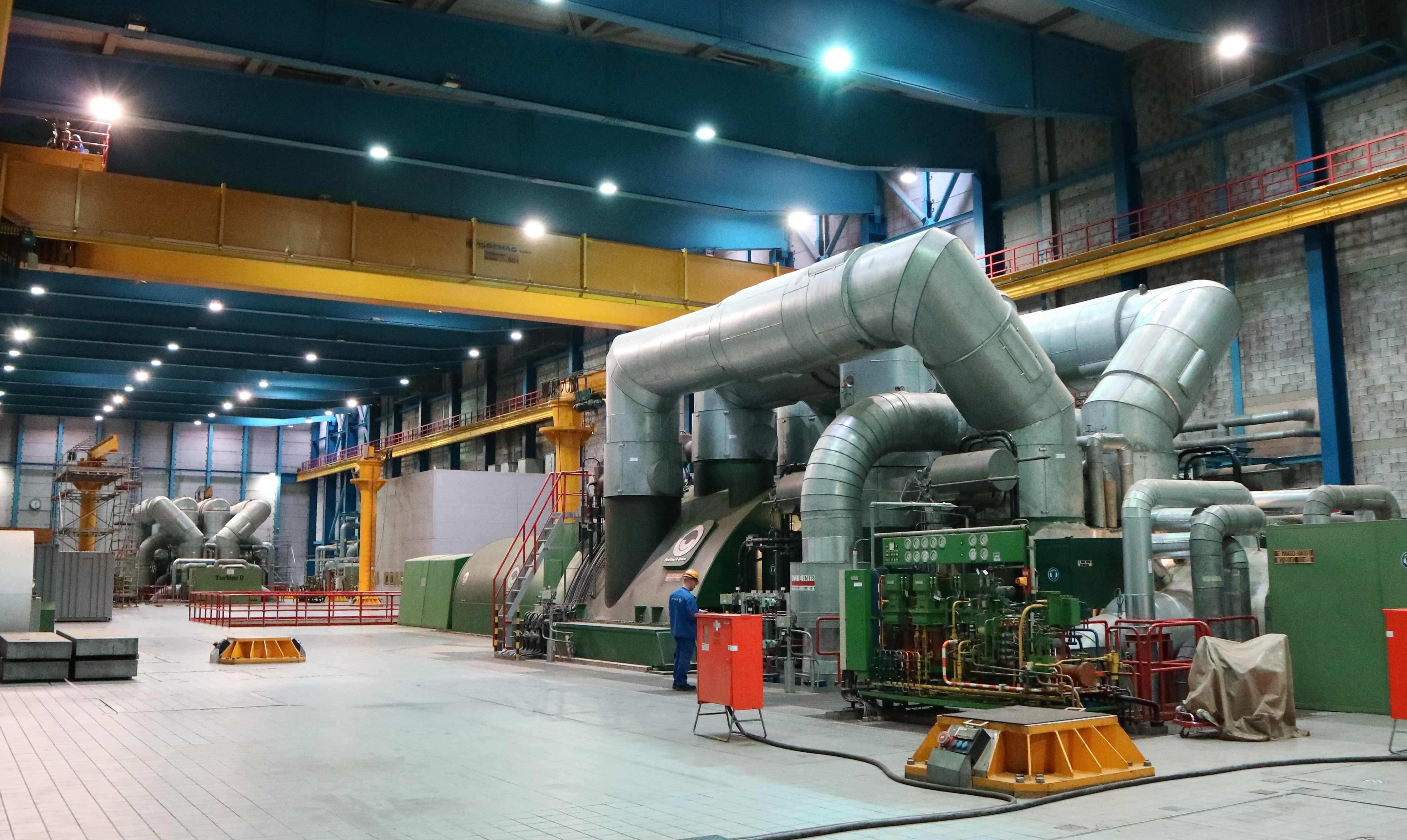 Fehlersuche im Kraftwerk - Temperaturüberwachung mit 600-kanaligem ...