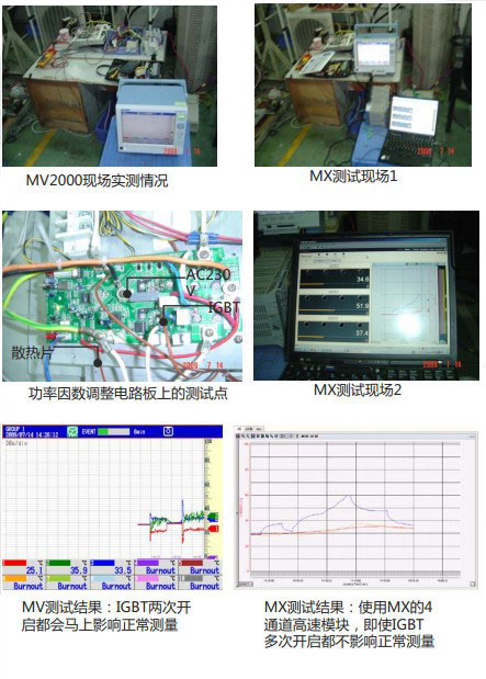 CN APP Air Conditioning Power Factor Adjustment Circuit Board Test MV2000 MX100