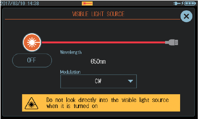 AQ1000 Visible Light Source