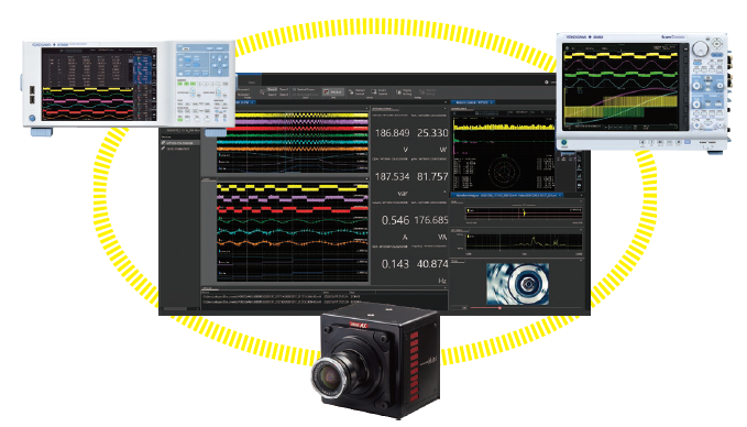 IS8000 Integrated Software Control Realtime Remote Monitoring | Yokogawa Test&Measurement
