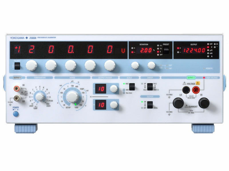 2560A Wide Output Precision DC Calibrator thumbnail