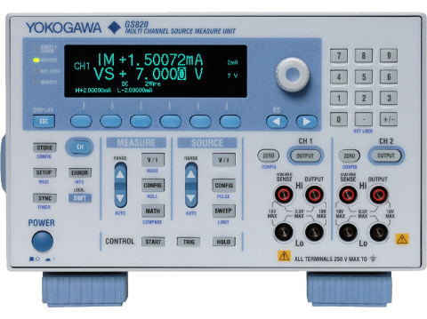 GS820 Multi Channel source measure unit image