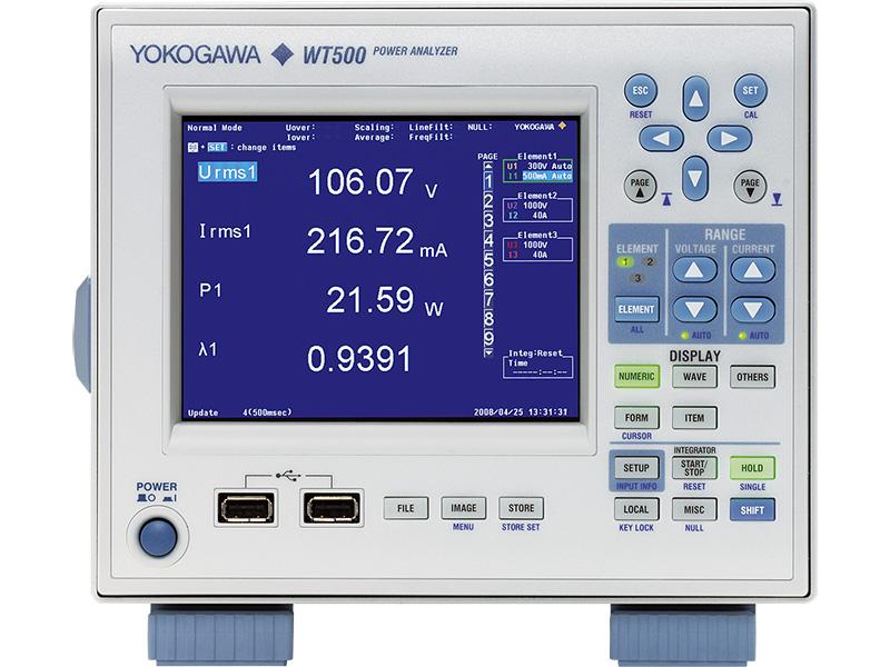 功率分析仪 WT500 thumbnail