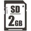 97060 SD Memory Card (2 GB) thumbnail