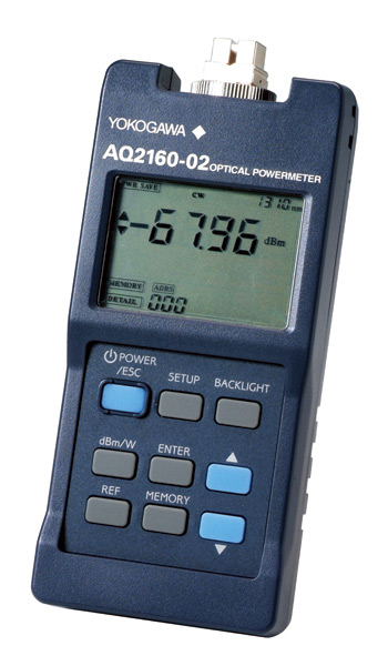 Aq2160 02 Optical Powermeter Yokogawa Test Amp Measurement