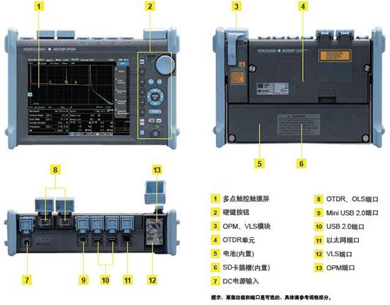 横河 OTDR AQ7280 外观设计