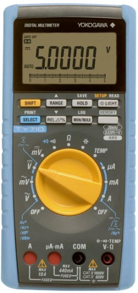 Digital Multimeter TY710 | Yokogawa Test & Measurement Corporation