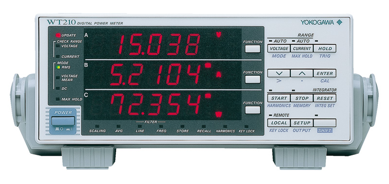 No Rf Digital Electric Meter : Wt digital power meters discontinued yokogawa