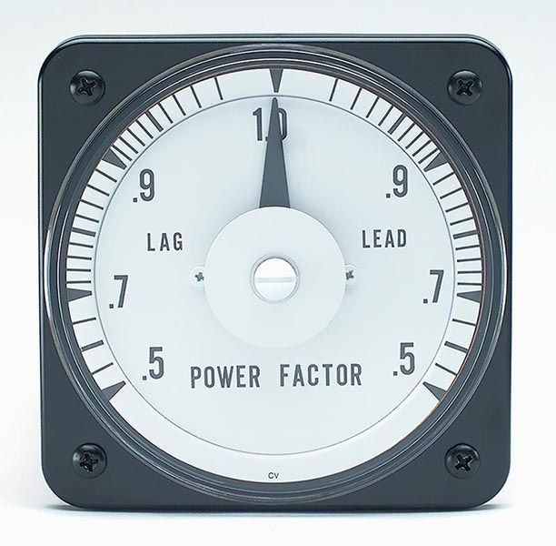 Power Factor Meter Analog : Ab power factor switchboard meter discontinued