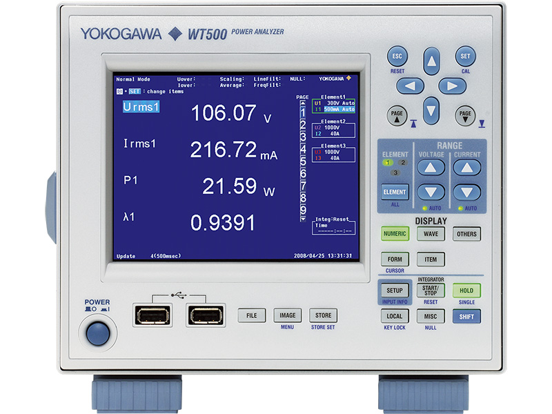 WT500 Leistungsanalysator thumbnail