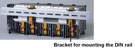 Mounting on Racks or Panels Using the DIN Rail