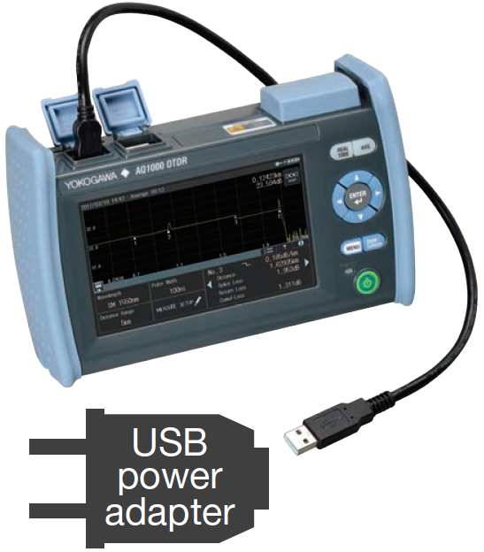 AQ1000 USB Power Feeding