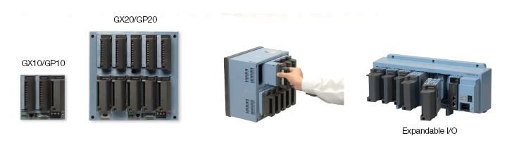 Modular input/output
