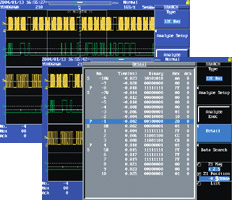 I2C Bus Analysis Results Display